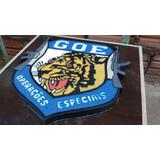 Brasão Do Grupo De Operações Especiais Da Polícia Civil Sp