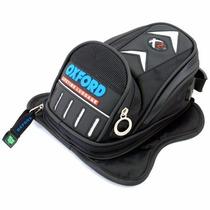 Mala De Tanque Magnética Moto X2 Mini Preta Oxford