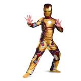 Marvel Iron Man 3 Mark 42 Niños Traje Clásico,