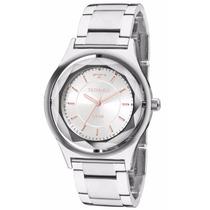 Relógio Technos Feminino Crystal Elegance 2035mia/1k Prata