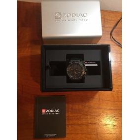 Reloj Suizo Zodiac Racer Color Negro
