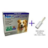 Kit Antipulgas Para Cães Nexgard G De 10,1 A 25kg Com 3 Tabl