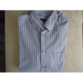 Padrisima Camisa Zegna Sport Raya Azul Xl 100% Original!!