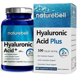 Naturebell Ácido Hialurónico Plus, 100 Mg, 180 Cápsulas Veg,