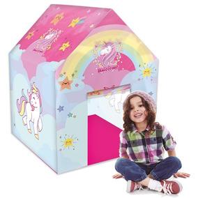 Toca Barraca Casinha Infantil Unicornio
