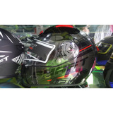 Casco Shaft 577 Doble Visor Certificado Norma Europea Ece220