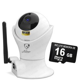 Camara Ip Interior 360 2mp Wifi Micro Sd 16 Gb Dvr 128 Gb