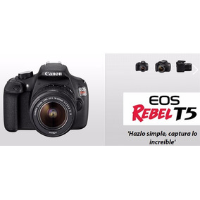 Canon T5 Video Full Hd En Caja + Lente 18-55
