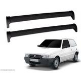 Rack Teto Fiat Uno Antigo 2 Portas Até 2013 Cristalcar Preto