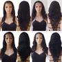 Mujeres Negras Real Natural Brasileño Virgen Cabello Humano