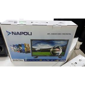 Tv 24 Pol Napoli Led Npl-24d450 Isdb-t (hd/digital/hdmi/usb)