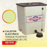 Calefon Electrico Plástico 20lts. Power Na7036