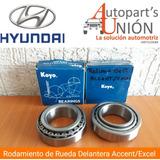 Rodamiento De Rueda Delantero Hyundai Accent Excel