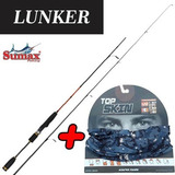 Vara Molinete Sumax Lunker Skr-180 Ultra Light +topskin Brin