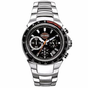 Reloj Harley Davidson Acero Cronógrafo 78b113