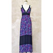 Vestido Isadora / Tela Bambula Estampada