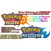 Pokémon Sun Moon Competitivo 6iv - Compre R$10 E Receba 25