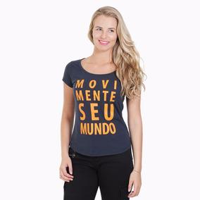 Camiseta Movimente Seu Mundo Marinho