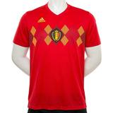 Camiseta Belgica Home Mundial Rusia 2018 adidas