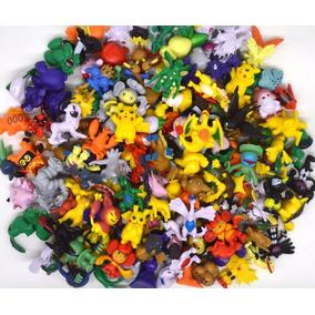 Bolsa Conteniendo 24 Mini Pokemón Cotillón 2-3 Cm Al Azar