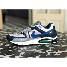 Nike Air Max Command - White - Blue - Silver