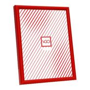 Portarretratos Plastico Marco Fino 10x15 Rojo