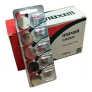 Pilas Maxell Cr2032 3v Litio X Unidad