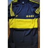 Camiseta Retro Del Club Boca Juniors Del Año 81