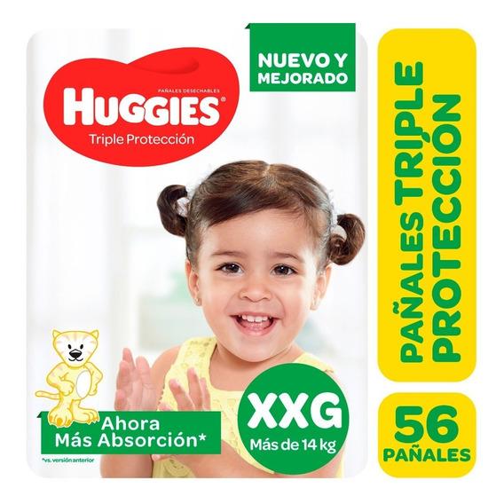 Pa?ales Huggies Classic Triple Proteccion Promopack