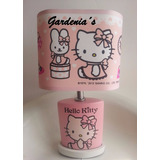 Lampara De Mesa De Noche Hello Kitty