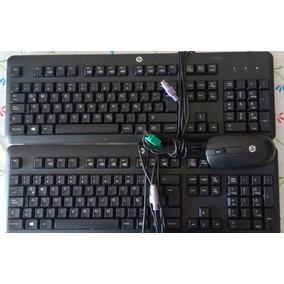 Kit Teclado Y Mouse Hp Multimedia Ps2 Modelo Kb1156