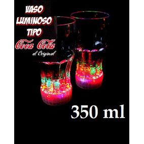 10 Vaso Luminoso Led, Vasos Con Luz Tipo Coca Cola