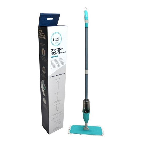 Mopa Spray Mop Microfibra Rectangular Trapeador Pisos Col