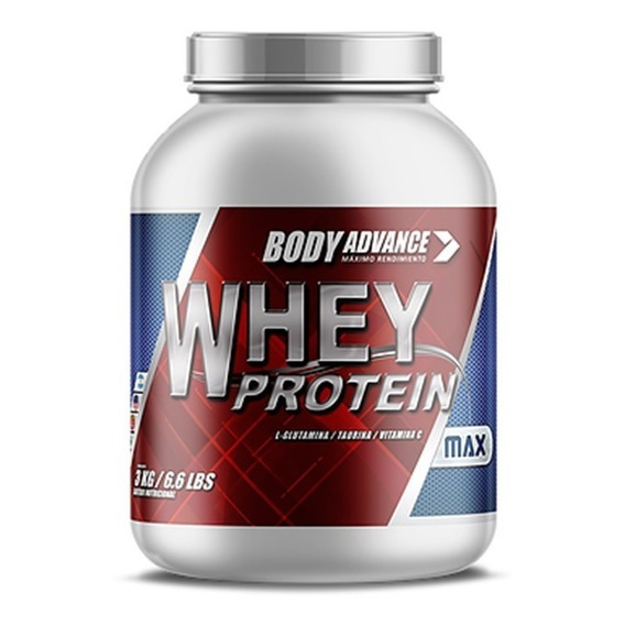 Whey Protein 3 Kg. Proteína Pura. Body Advance