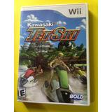 Juego Original De Nintendo Wii Jet Ski