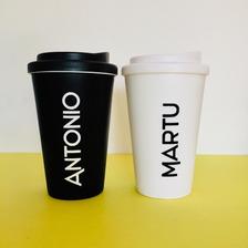 Vasos Termicos Café Americano Tipo Starbuck Con Frases