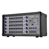 Mezcladora Amplificada Consola 10 Canales 10m4 Usb Backstage