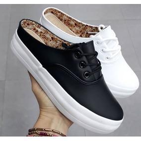 Zapatos Casuales De Damas Tipo Sueco