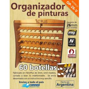 Organizador De Pinturas Vallejo, Andrea Y Mig