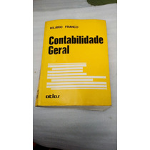 Livro De Contabilidade Geral Hilário Franco