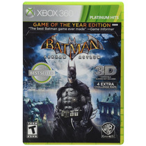 Batman: Arkham Asylum [game Of The Year Edition] - Xbox 360