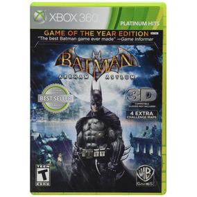 Batman: Arkham Asylum Goty - Xbox 360 - Mídia Física Nf