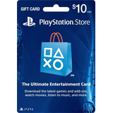 Code Psn Play Station Network Store Gift Card 10 Usd Dolares