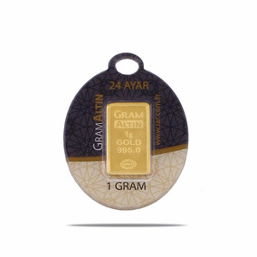 Lingote De Oro 1 Gramo De 24 Kilates Oro Fino