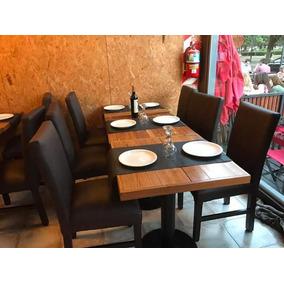 Mesas Y Sillas Para Restaurante O Cafetería
