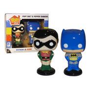 Funko Pop Home Dc Batman Y Robin Salero/pimentero