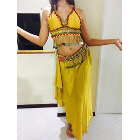 Vestido Danza Árabe 2 Piezas
