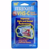 Cassette Vhs-c Maxell Limpiador De Cabezal S/. 35