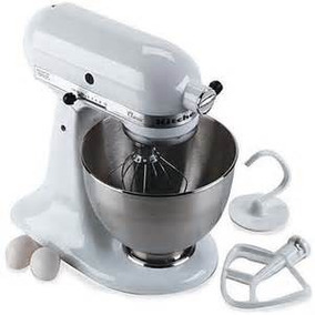 Batidora De Pie Kitchenaid Classic Blanco 4,5-qt.