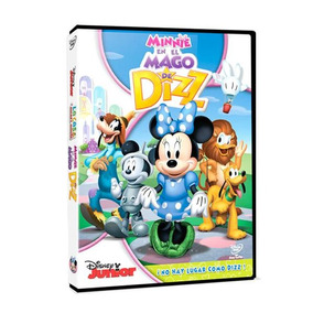 Dvd - La Casa De Mickey Mouse Minnie En El Mago De Dizz